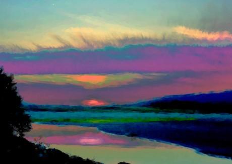 Derrynane Sunset Redux