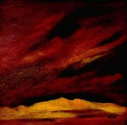 2006--0315-SkyAndDunes-Oil-8X8-borderless-BWR