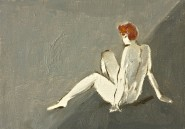 2010-0218-Redhead-Oil-5X7-CWR