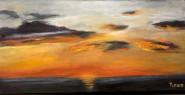 2011-0211-SunsetOverTheBay-8990-10X20-Oil-CWR