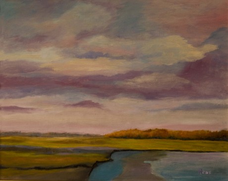 2012-0331-LateAfternoonSky-Oil-16X20-CWR