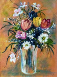 2010-0828-Bouquet-14x20-Dittys-Oil-CWR