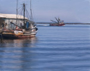 2012-0514-FishingBoats-Efex4-11X14-Flat-VanGoghSmearyBristle-0880
