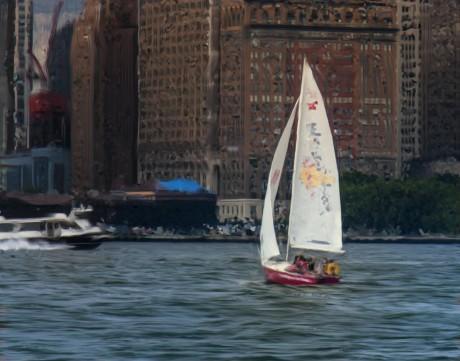 2012-0731-ManhattanDaySail-EfexPro-11x14-VanaGoghSmearyBristle-CWR